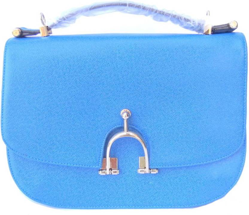 023bd77e2c Buy Fundoo Hand-held Bag Blue Online   Best Price in India ...