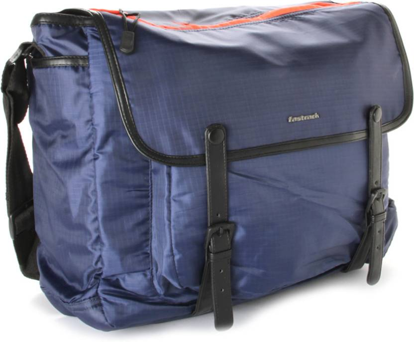 d102537c03c1 Buy Fastrack Messenger Bag Blue Online   Best Price in India ...