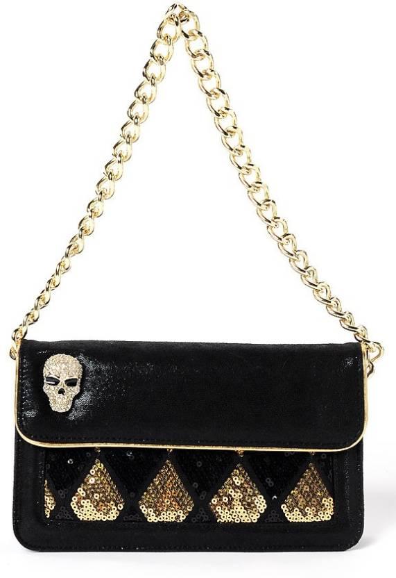 Buy Christian Audigier Hand-held Bag Gold Online   Best Price in ... 68b7d3cf170c5