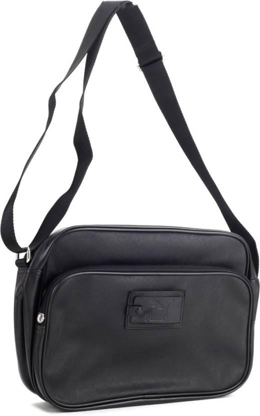 Buy Puma Messenger Bag black Online   Best Price in India  1b1d713d93ab0