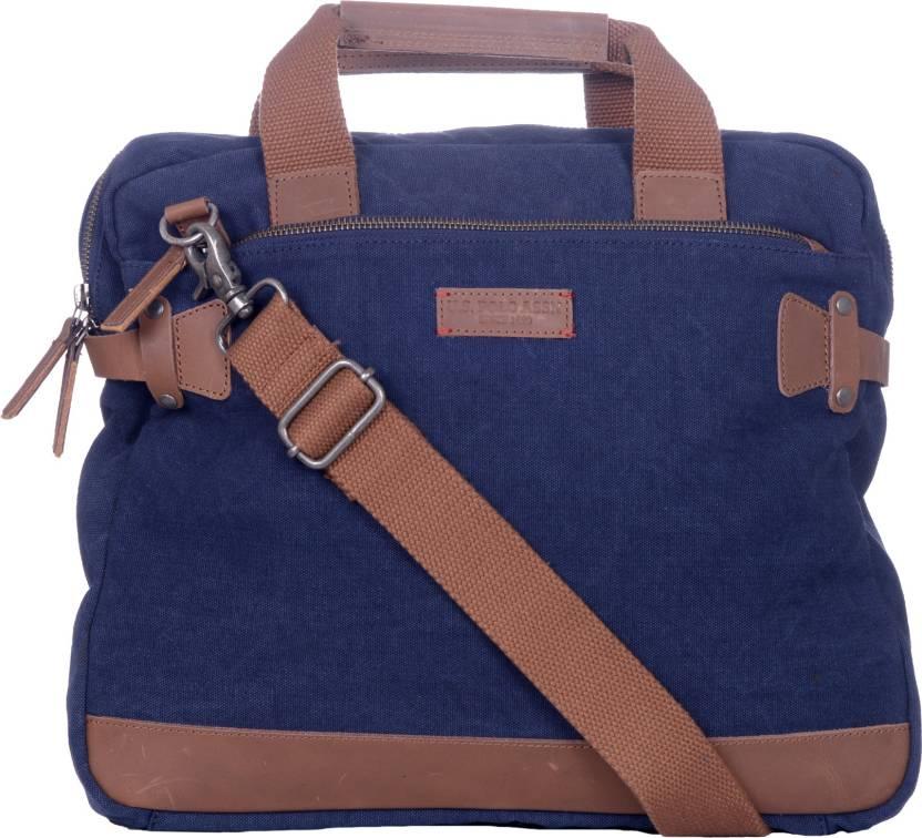 buy u.spolo assnmen khaki sling bag handbags for men 87852 myntra ... a5469b9a35f4a