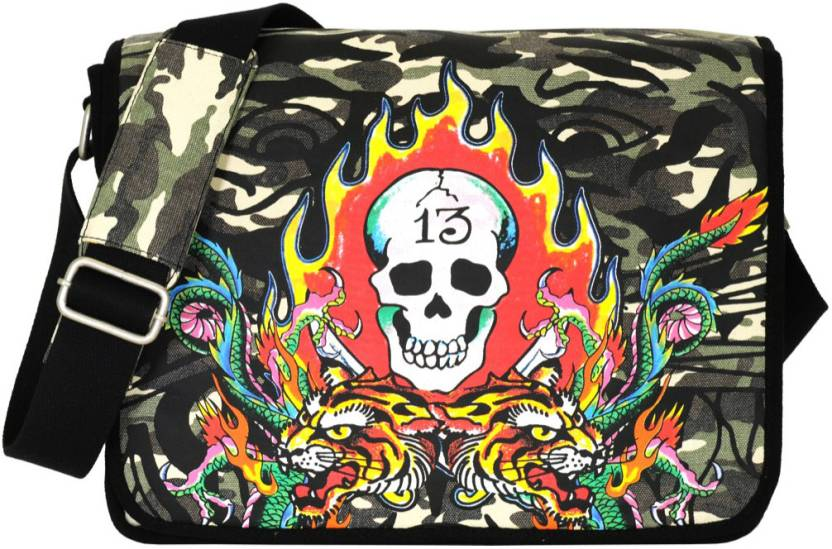Buy Ed Hardy Messenger Bag Camo Online   Best Price in India ... c1d652e0b561b