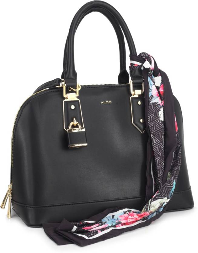 8dc15a2c223 Buy ALDO Hand-held Bag Black Smooth W/Lt Gold Hw Online @ Best Price ...