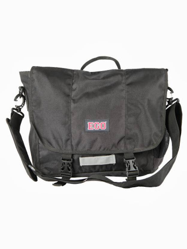 5fc4e29d6282 Buy EGO Messenger Bag Black Online   Best Price in India