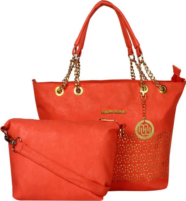 89b05864b5dd Buy Meow Wings Shoulder Bag Red Online   Best Price in India ...