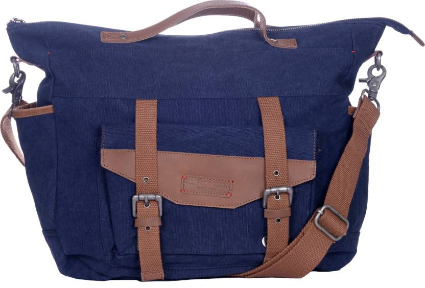 Buy U.S. Polo Assn Messenger Bag Blue Online   Best Price in India ... a911ff1794544