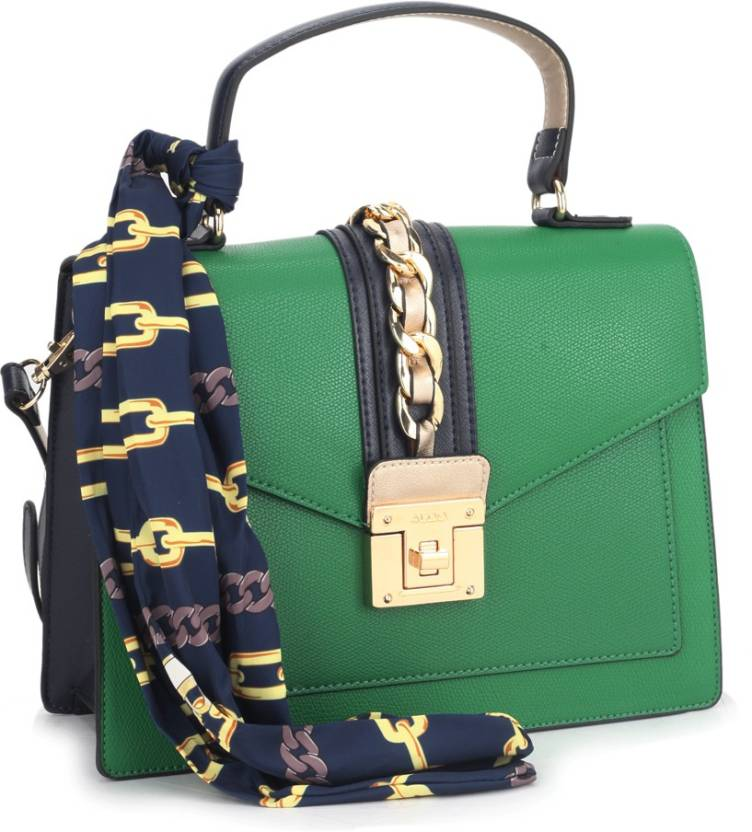 dc3c157dd6e Buy ALDO Hand-held Bag Kelly Green/Navy Combo W/Lt Gold Hw Online ...