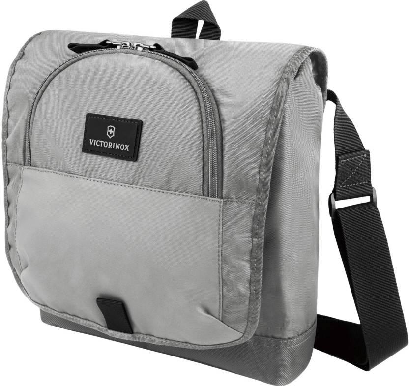Upto 50% Off On Bags By Flipkart   Victorinox Shoulder Bag  (Grey) @ Rs.1,415