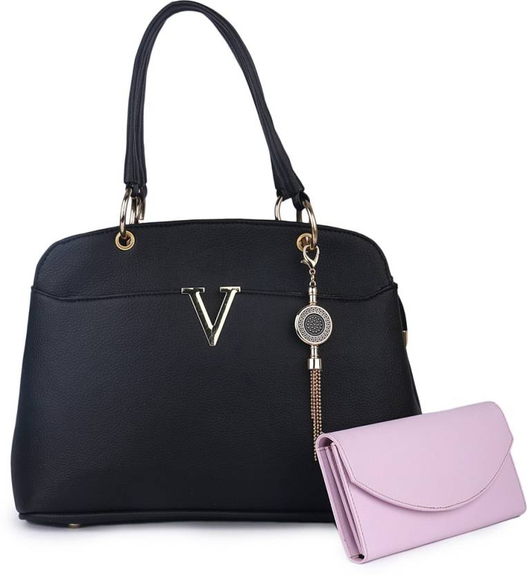 Buy Women Marks Hand-held Bag BLACK Online   Best Price in India ... a9572a7b1403c