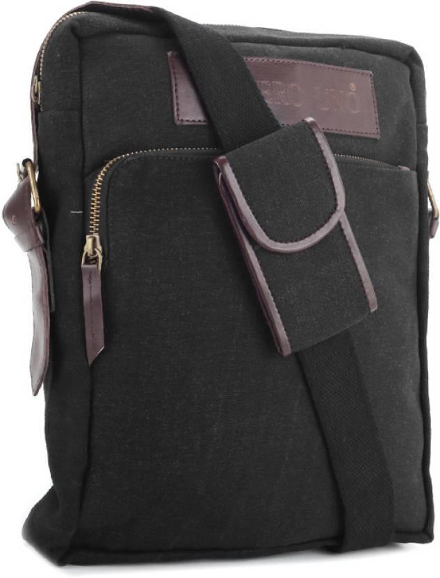 Buy Numero Uno Messenger Bag Black Online @ Best Price in
