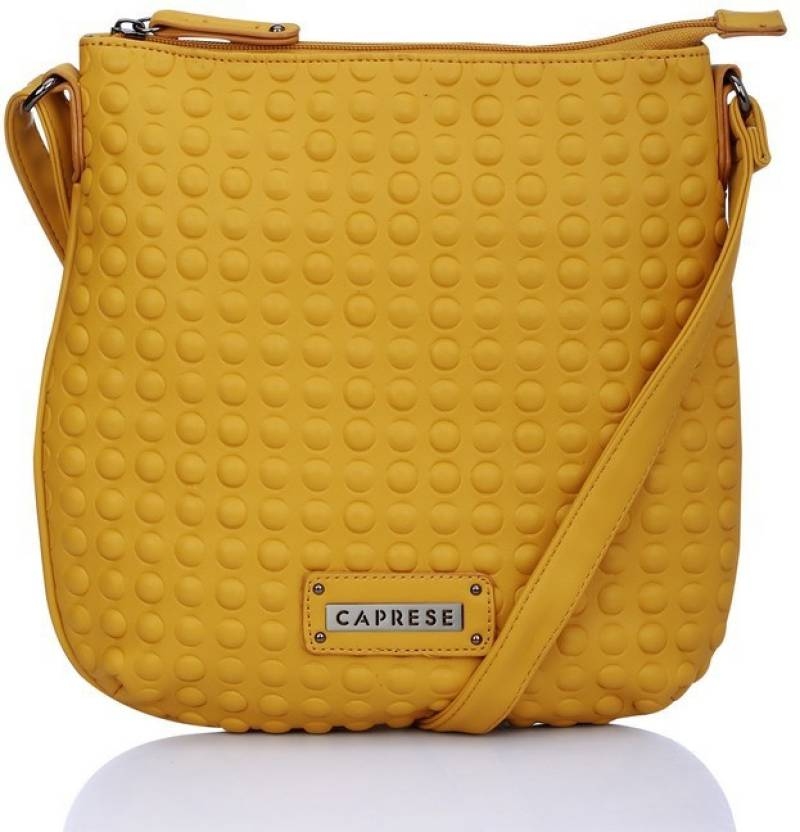 a31c9bc64ca Buy Caprese Sling Bag YELLOW Online   Best Price in India