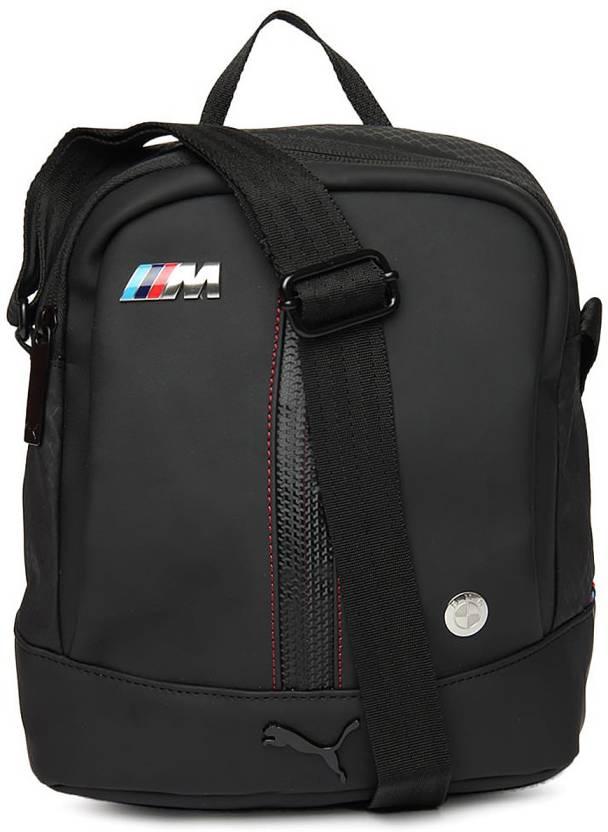 5bf23b6073da Buy Puma Messenger Bag Black Online   Best Price in India