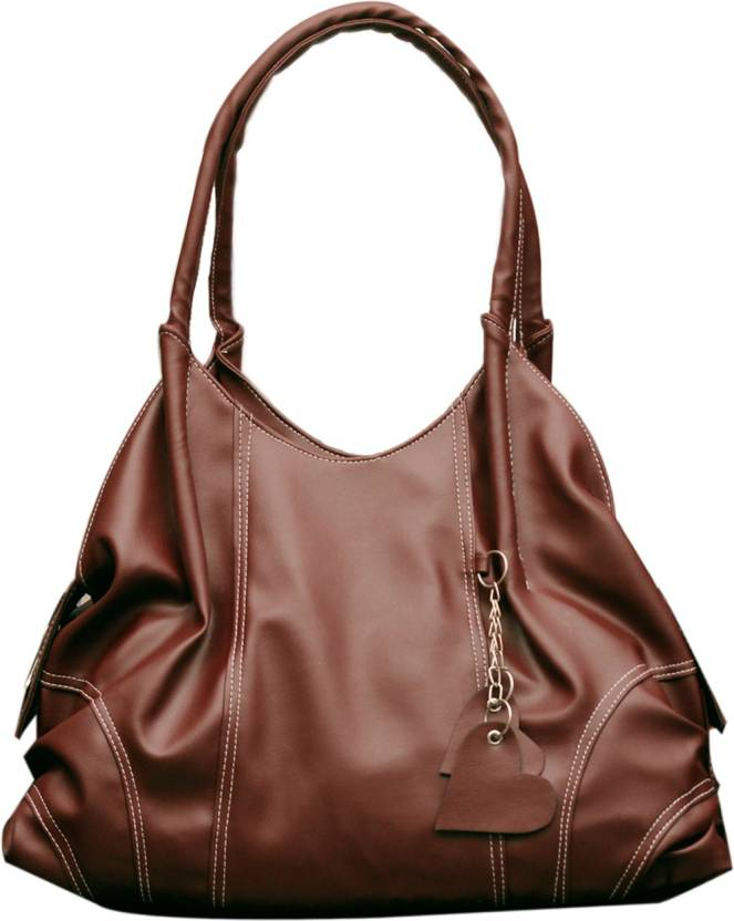Upto 72% Off On Handbags By Flipkart | Fostelo Shoulder Bag  (Brown) @ Rs.629