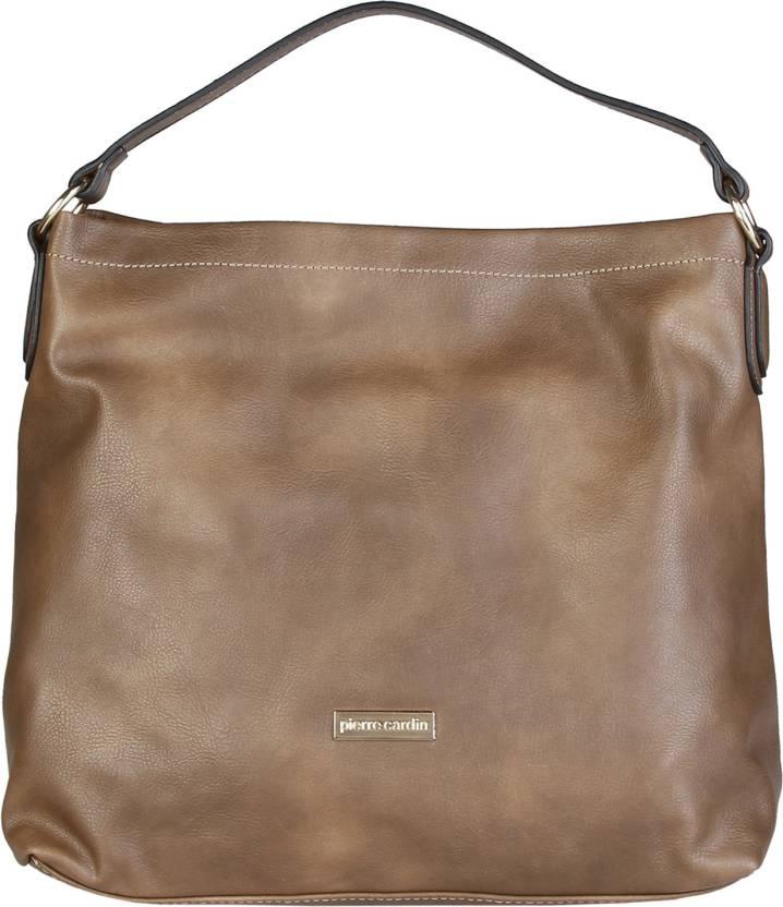 228be6622c6b Buy Pierre Cardin Shoulder Bag BROWN Online   Best Price in India ...
