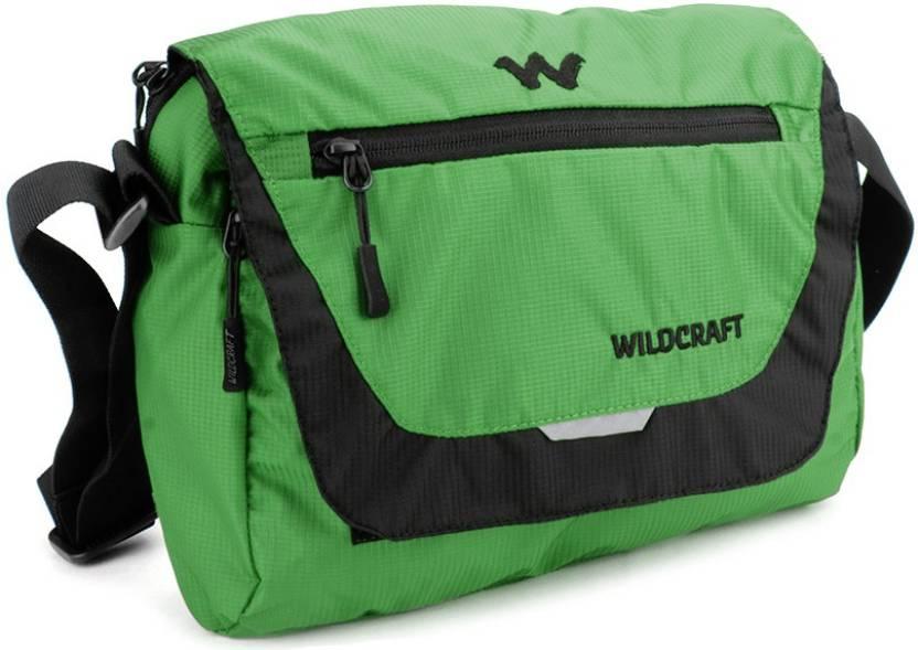 51abaf557 Buy Wildcraft Messenger Bag Green Online   Best Price in India ...