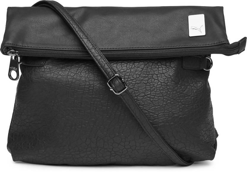 9c2ae79694d0 Buy Puma Sling Bag Black Online   Best Price in India