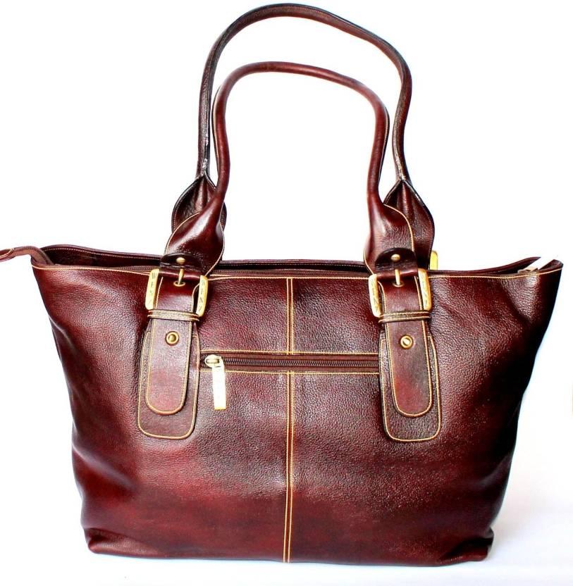 Buy Stonkraft Hand-held Bag Dark Brown Online   Best Price in India ... 72cce92071f00