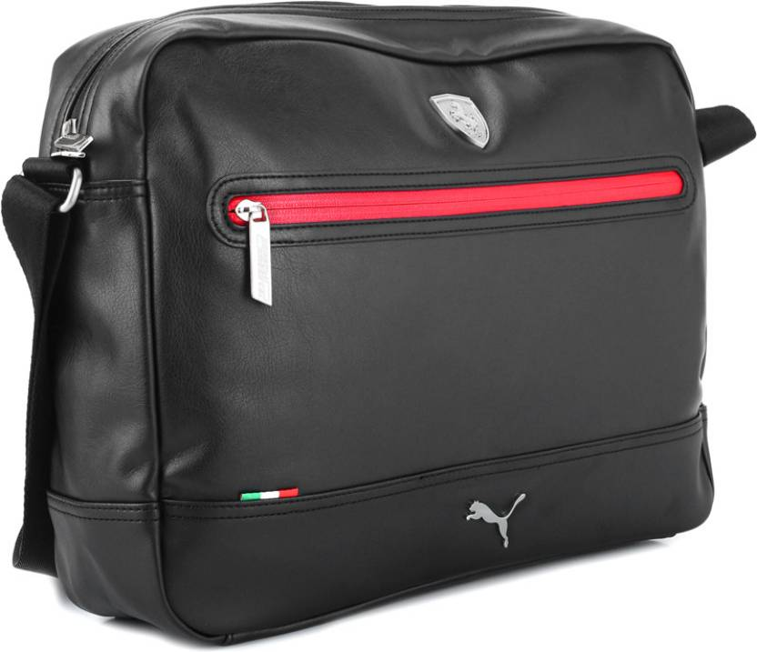 Buy Puma Messenger Bag Black Online   Best Price in India  8fbd34fcba84d
