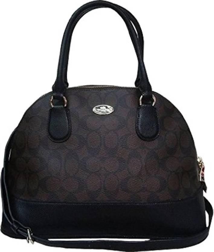 65d26d0e046 Buy Coach Hand-held Bag Brown, Black Online @ Best Price in India ...
