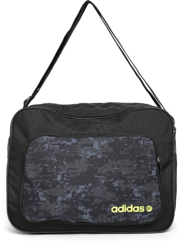 1e607390a9b3 Buy ADIDAS NEO Messenger Bag Black Online   Best Price in India ...