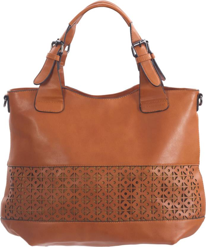 26a47e8462 Buy David Jones Hand-held Bag Orange Online @ Best Price in India ...