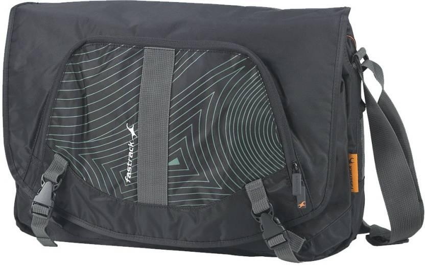 Buy Fastrack Messenger Bag Black Online @ Best Price in ...