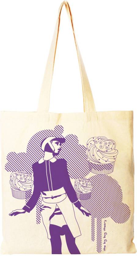0a2da46476 Buy The Big Bag Theory Tote Ecru Online   Best Price in India ...