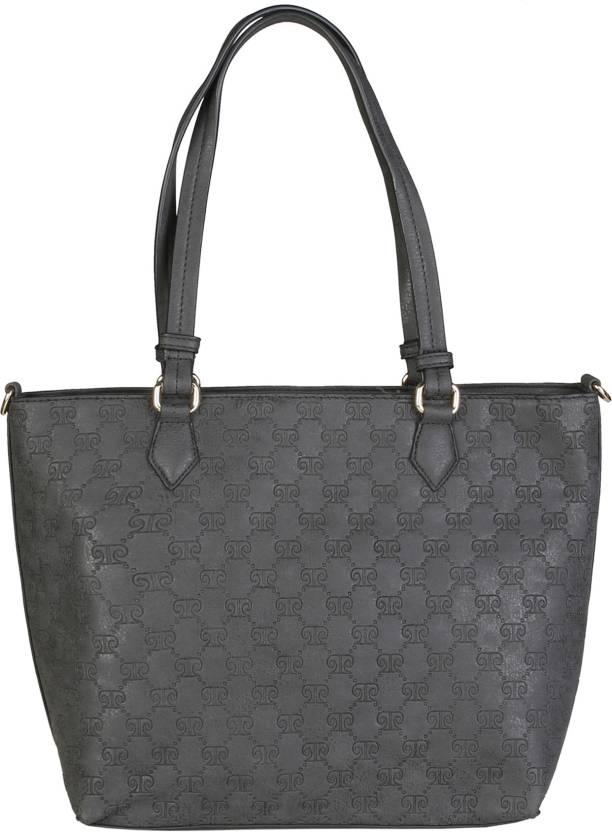 8cde484db5 Buy Pierre Cardin Shoulder Bag BLACK Online   Best Price in India ...