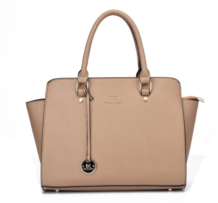 e931eb547daa Buy Diana Korr Hand-held Bag Beige Online @ Best Price in India ...