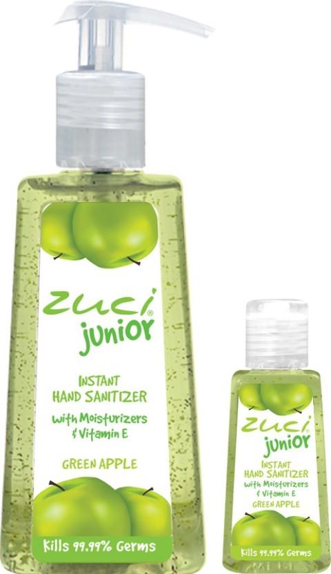 Zuci Pack Of 250 Ml 30 Ml Hand Sanitizer Green Apple Price In