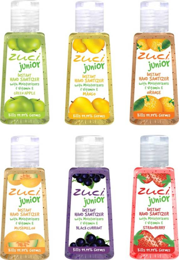 Zuci Junior Natural Hand Sanitizer 36 Units - Assorted variants