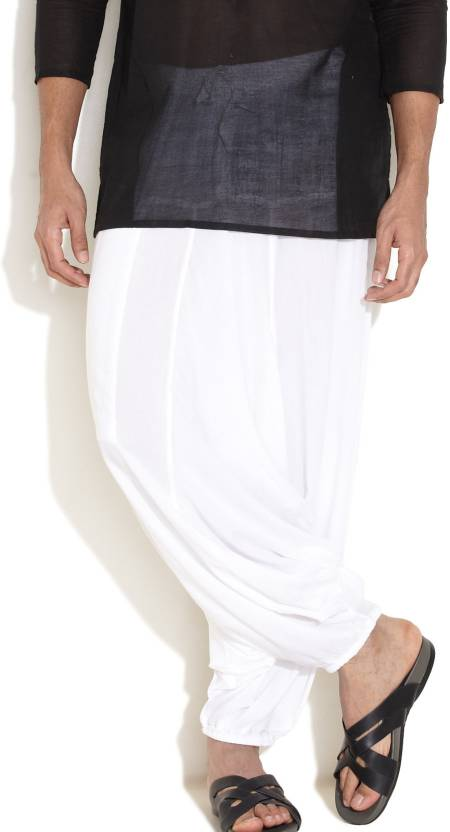 Girigauri Solid Cotton Men's Harem Pants
