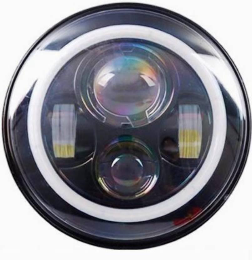 AutoPowerz LED Headlight For Royal Enfield, Mahindra ...