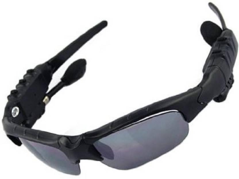 Kaxidy Bluetooth Sunglasses With Mp3 Player 4Gb Headphone Headphone (Black) cc77a7b1d4
