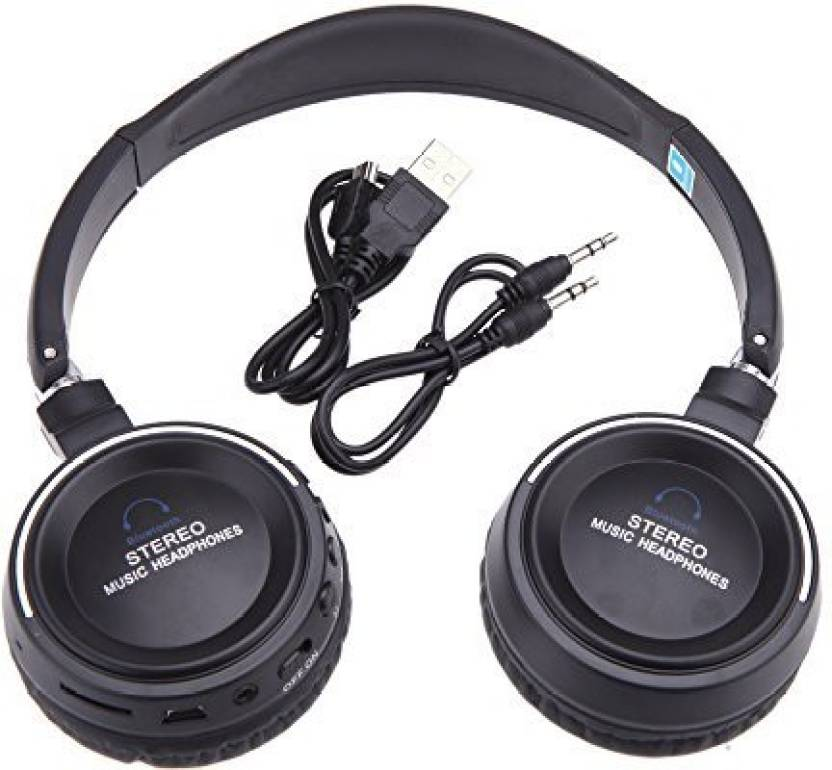 31e4e3ced82 Andoer Wireless 3 In 1 Multifunctional Stereo Bluetooth Headphone Earphone  Headset With Mic Mp3 Player Fm Radio For Smart Phones Headphone (Black)
