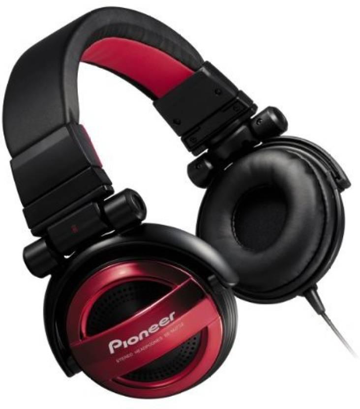 Pioneer Pioneer Pioneer Sealed Dynamic Stereo Headphones Se Mj732 R Japan .
