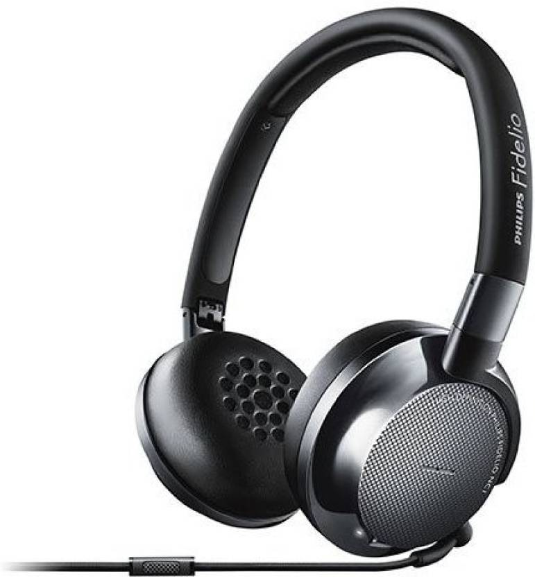 Philips Nc1/27 Fidelio Noise Cancelling Premium Headphones With Ergonomic Memory Foam Cushions And Compact Multi-Way Folding For Easy Travel Wired Headphone