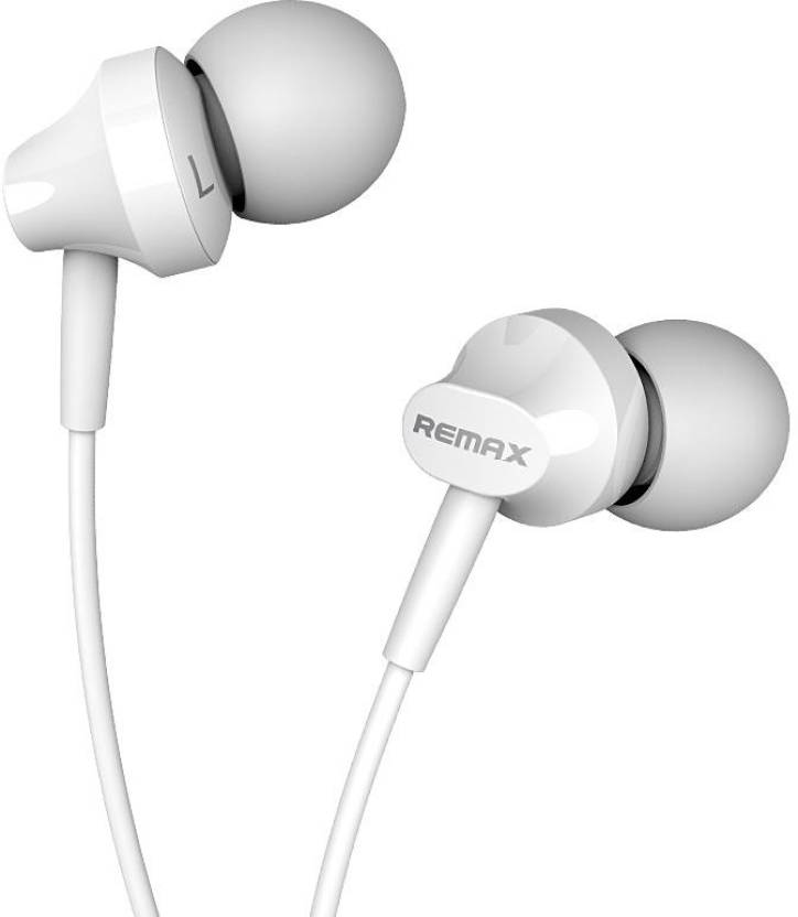 Remax Rm-501 Enhanced Bass In-Ear With Mic Wired Headphones
