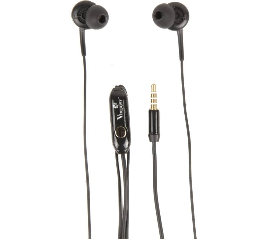 c7e353c4a02 CLICK4DEAL Vingajoy Swag Series vj485 universal earphones Headphone (Black,  In the Ear)