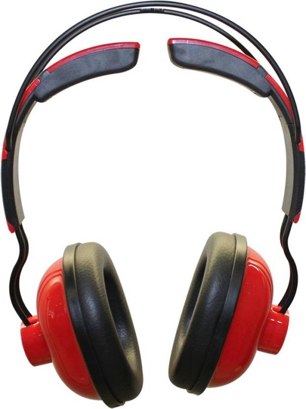 MX 3333 Red Bluetooth Headset without Mic Red, On the Ear MX Headphones