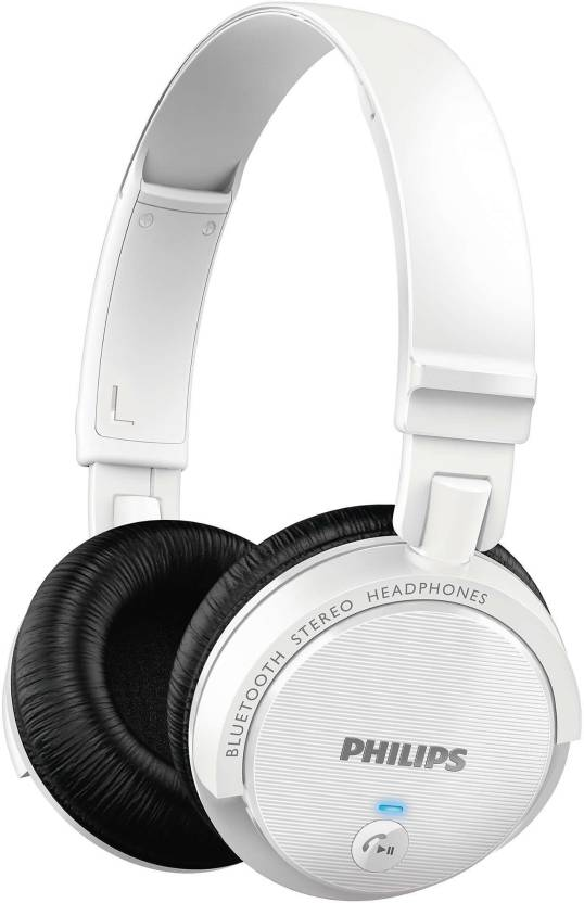 ac0d914dbb9 Philips SHB5500WT/00 Wireless Bluetooth Headset With Mic - Philips ...