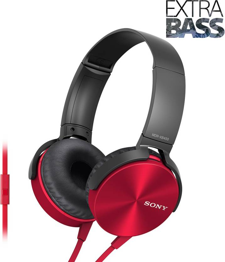Upto 20% Off Sony MDR-XB450 Extra Bass Wired Headphones