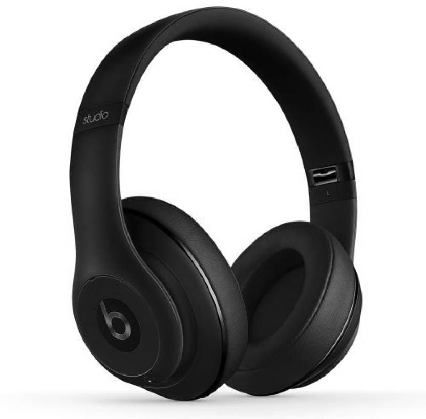 b07c6ac7297 Beats Studio Wireless Over-Ear Headphone - Matte Headphone (Black, Over the  Ear)