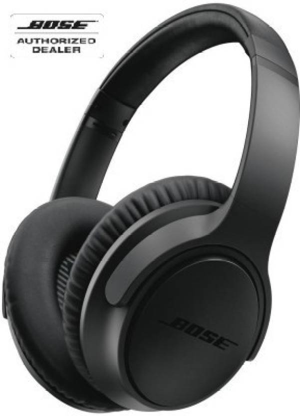 Bose SoundTrue Around Ear II Wired Headphones  (Charcoal black, Over the Ear)