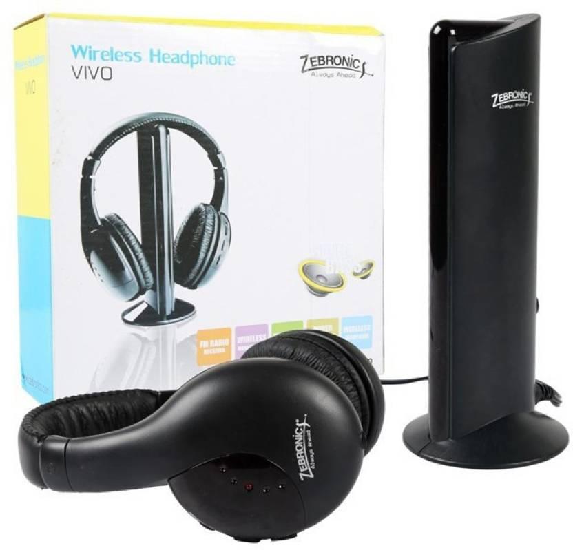 14e21a407e5 Zebronics Vivo Bluetooth Headphone Price in India - Buy Zebronics ...