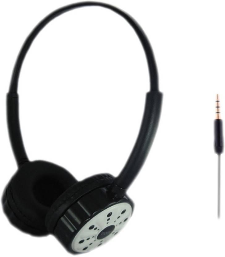 88e7fe0dfef Ubon Big Daddy Bass Headset STERO DYNAMIC EARPHONE Headphone (White, On the  Ear)
