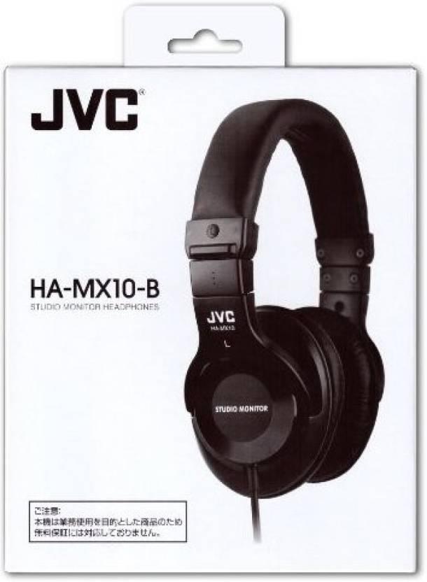 JVC Victor Studio Monitor Headphones | Ha-Mx10-B (Japanese