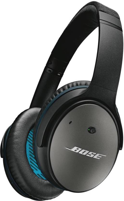 5c745d29ecc Bose QuietComfort 25 for Apple Devices Headset with Mic (Black, Over the Ear )