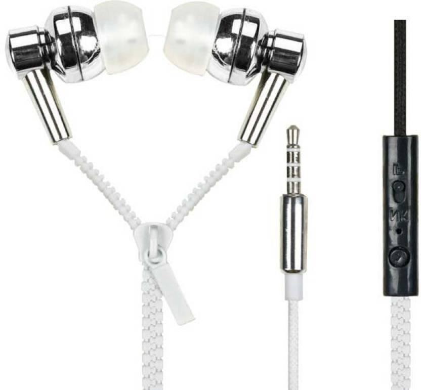 Goospery GSPREY2-29 Zipper for All Oppo Mobiles Headphone