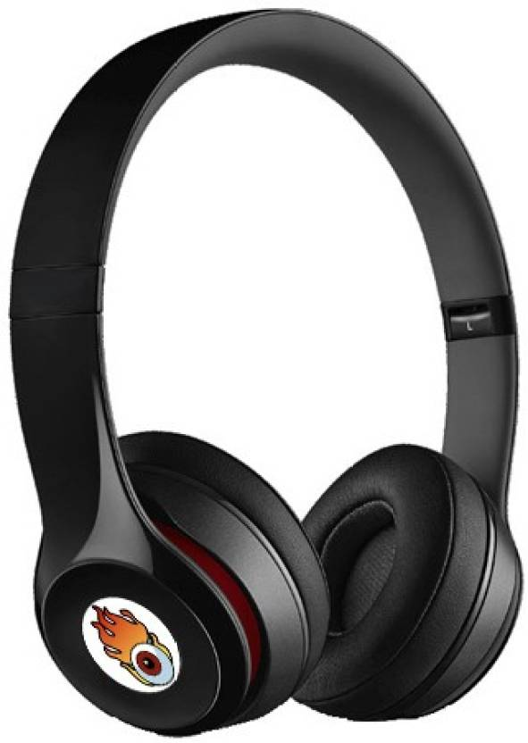 03db95c0c37 ACID EYE First-class SHOLO 2-BH-460 wireless headphone with calling  facility & FM Headphone (Black, Over the Ear)